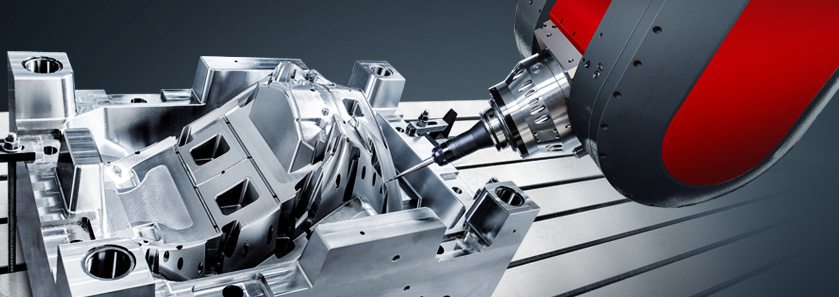 CNC 5-Axis Gantry Type Milling Center Close-Up