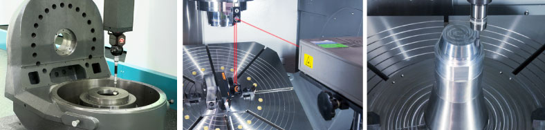 3D Measuring, Laser Inspection, Workpiece Cutting Test