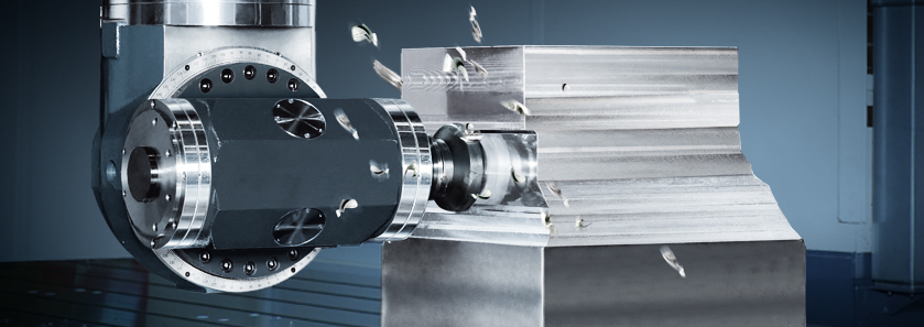 CNC Bridge Type 5-Face Machining Center Head Close-Up