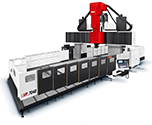 CNC Bridge Type Moving Cross Rail 5-Face Machining Center MVP Series